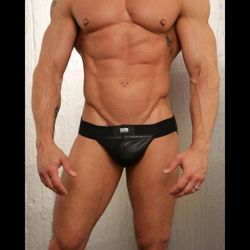 TOM OF FINLAND TOOLS - LEATHER JOCKSTRAP