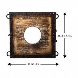 LODBROCK - SERVING PLATE / NECK RESTRAINT SET