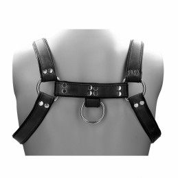 PAIN - LEATHER MALE CHEST HARNESS
