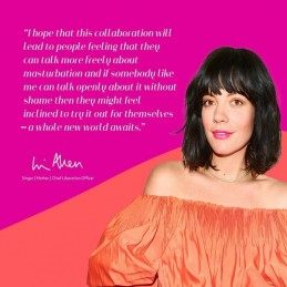 Buy WOMANIZER LIBERTY LILY ALLEN SPECIAL EDITION with the best price