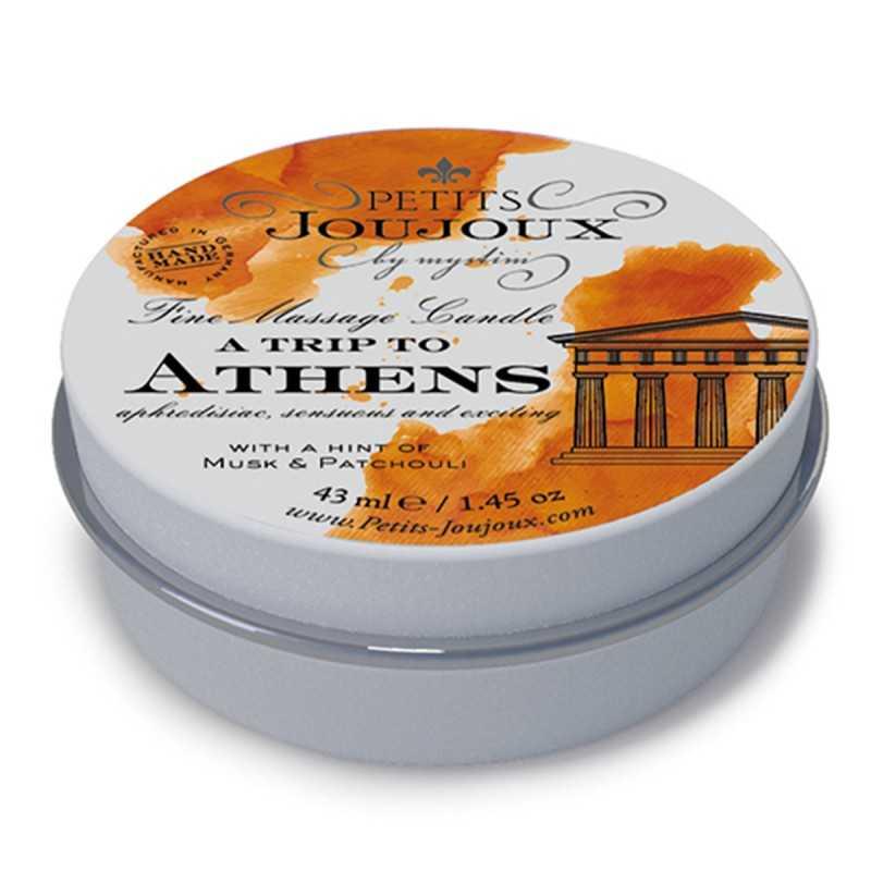 Купить PETITS JOUJOUX - MASSAGE CANDLE ATHENS/ROME/PARIS/LONDON/ORIENT/WAIKIKI 33 GRAM по лучшей цене в Эстонии