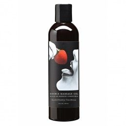 EARTHLY BODY - STRAWBERRY FLAVOR EDIBLE MASSAGE OIL 237ml