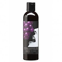 EARTHLY BODY - GRAPE FLAVOR EDIBLE MASSAGE OIL 237ml
