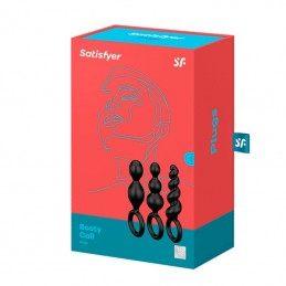 Купить SATISFYER - BOOTY CALL PLUGS (SET OF 3) по лучшей цене в Эстонии