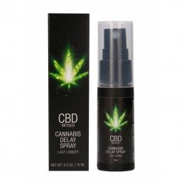 CBD CANNABIS DELAY SPREI MEESTELE 15ML