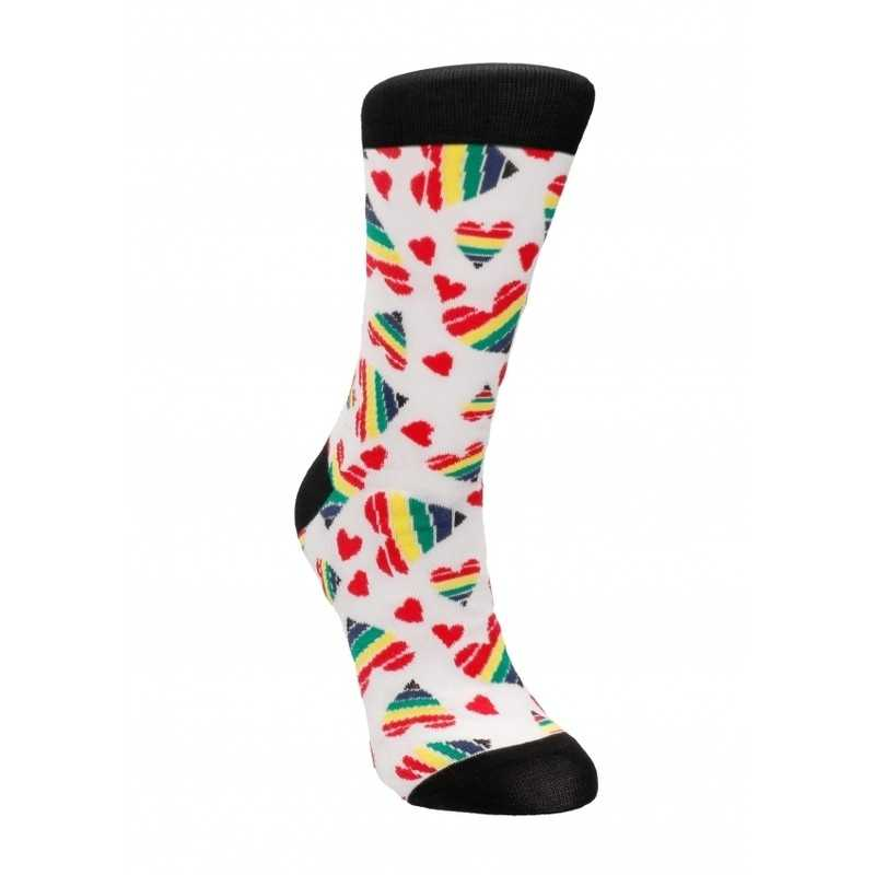 Buy SEXY SOCKS - HAPPY HEARTS with the best price