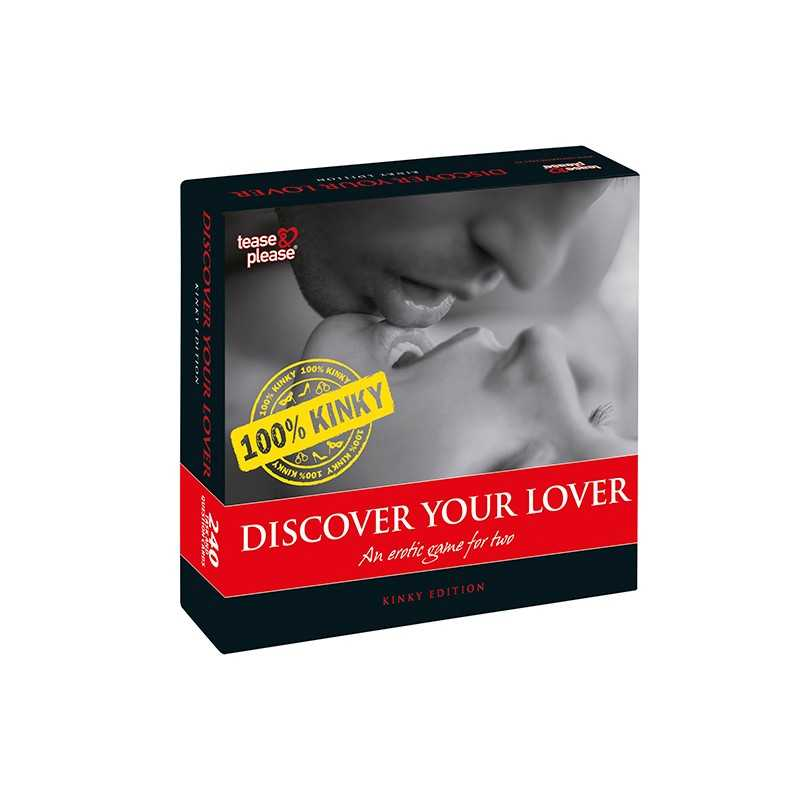 Buy TEASE & PLEASE - DISCOVER YOUR LOVER 100% KINKY (EN) with the best price