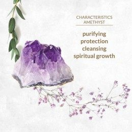 Buy LA GEMMES - BUTT PLUG AMETHYST with the best price