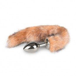 Buy FOX TAIL 27CM PLUG - METAL BUTT PLUG WITH SOFT FUR TAIL with the best price