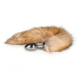 Buy FOX TAIL 42CM PLUG - METAL BUTT PLUG WITH FUR TAIL with the best price