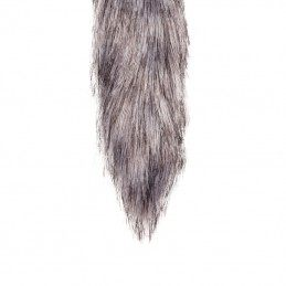 Buy SILVER FOX TAIL 42CM PLUG - METAL BUTT PLUG WITH FUR TAIL with the best price