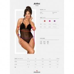 Купить OBSESSIVE - ALIFINI TEDDY BLACK по лучшей цене в Эстонии