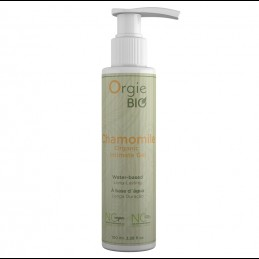 Buy Orgie Bio Chamomile Waterbased Intimate Gel - 100ml with the best price
