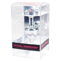 Buy DIOGOL - ANNI R BUTT PLUG CLOVER SILVER with the best price