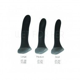 WET FOR HER - FUSION VIBRATOR FOR STRAP-ON