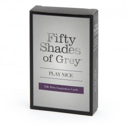 Buy FIFTY SHADES OF GREY - PLAY NICE TALK DIRTY CARD GAME with the best price