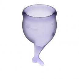 Купить SATISFYER - FEEL SECURE MENSTRUAL CUP SET по лучшей цене в Эстонии
