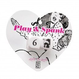Love To Love Gifts - Play & Spank Dices By Manara Ltd Edition
