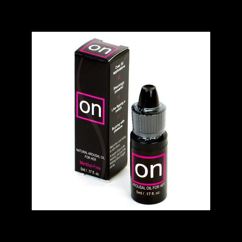 Sensuva ON - Arousal Oil For Her Bottle