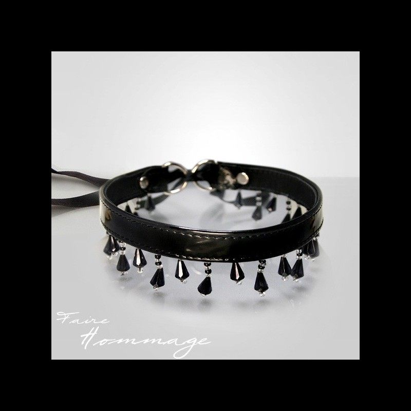 Faire Hommage - Pearl Necklace Collar