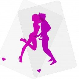 Super Poses - Transparent Card Game For Adults